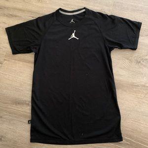 Jordan's black unisex athletic top size S